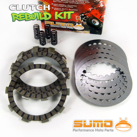 Yamaha Complete Clutch Kit YZ 80 (1986-1992) Friction & Steel Plates + Springs