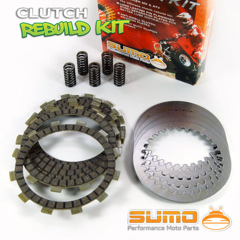 1996-2004 Friction /& Steel Plates Springs Honda Complete Clutch Kit XR250 R