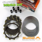 Honda Complete Clutch Kit CR 125 R (1983-1984) Friction & Steel Plates + Springs