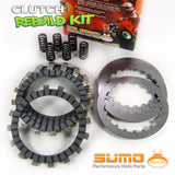 Yamaha Complete Clutch Kit Set YZ 125 U (1988) Friction & Steel Plates + Springs