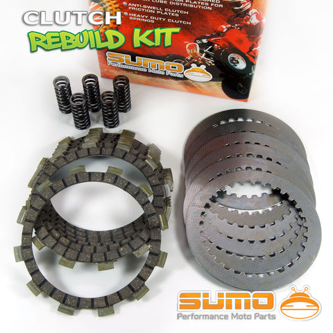 Yamaha Complete Clutch Kit YZ 125 (1991-1992) Friction & Steel Plates + Springs