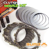 Kawasaki Complete Clutch Kit for KX 125 M (2003-2008) Friction & Steel Plates+Springs