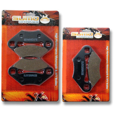Polaris F+R Brake Pads Sportsman 300 (2008-2009-2010) 500 EFI (07-09) 700 X 2008