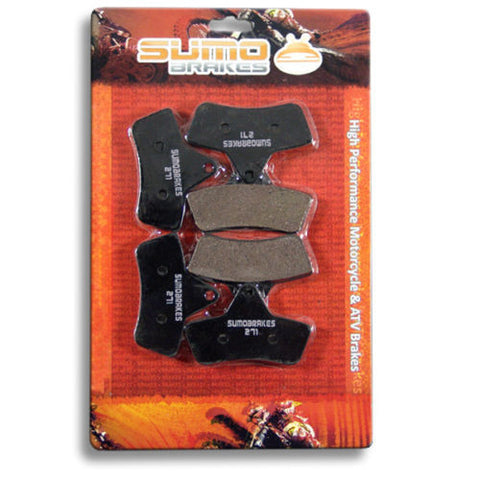 Arctic Cat F+R Brake Pads 454 (1996-1998) 500 (1998-2004) 650 H1 Auto 2004-2006