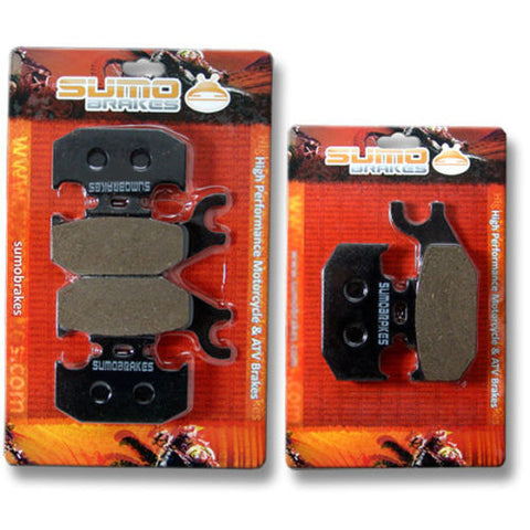 Can Am F+R Brake Pads Outlander 400 500 650 800 2007 2008 2009 2010 2011 2012