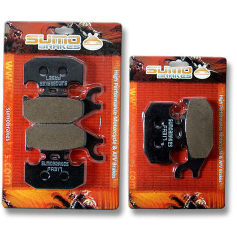 Bombardier Front Rear Brake Pads Quest 500 (02-04) 650 02-05 Max Std XT 2x4 4x4