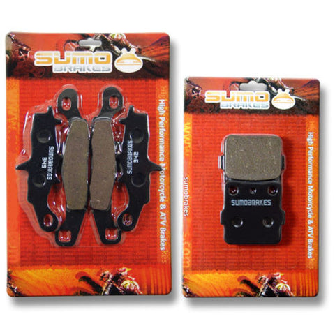Kawasaki Front + Rear High Performance Brake Pads KFX 450R (KSF450B) (2008-2014)