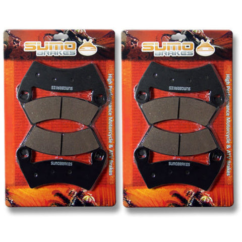 Polaris Front + Rear Brake Disc Pads 700 Ranger (Crew) EFI 4x4 (Only 2009)