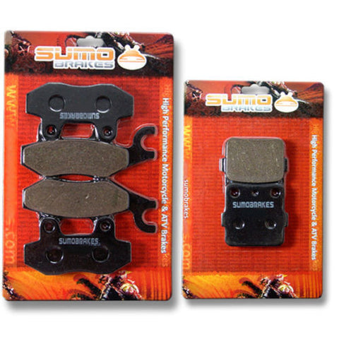 Yamaha Front Rear Brake Pads YFZ 450 (Only 2004 2005 S/T Models) (04-05) YFZ450