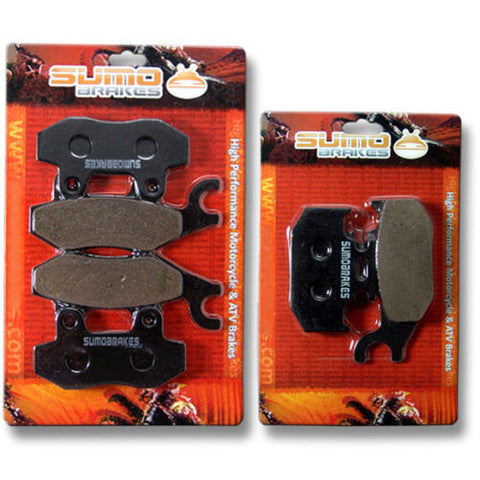Yamaha F+R Brake Pads Raptor YFM 700 R(Special Edition ONLY) 2012 2013 2014 2015