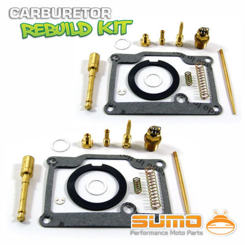 2 X Suzuki High Quality Carburetor Rebuild Carb Repair Kit T350 Rebel (1969-1972)