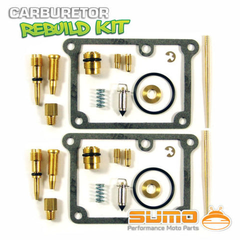 2 X Yamaha Quality Carburetor Rebuild Carb Repair Kit Banshee YFZ350 (1988-2006)
