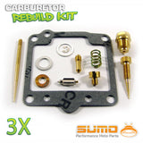 3 X Yamaha High Quality Carburetor Rebuild Carb Repair Kit XS 750 (1978-1979)