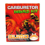 Yamaha High Quality Carburetor Rebuild Carb Repair Kit Set PW 50 [1985-2006]