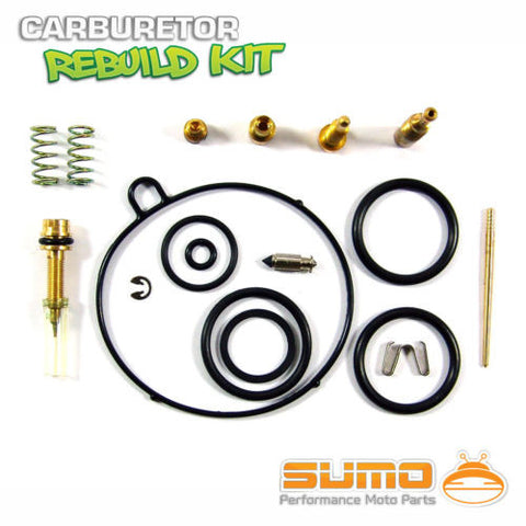 Honda High Quality Carburetor Rebuild Carb Repair Kit FourTrax TRX 70 (1986-1987)
