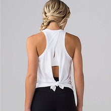 Open Back Tank Top