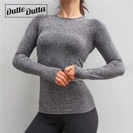Fitted Seamless Long Sleeve Shirt