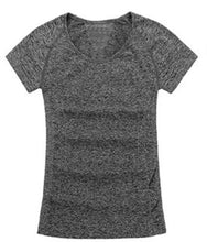 Raglan Style Short Sleeve Fitted T Shirt