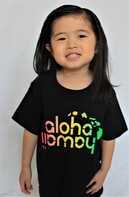 Aloha Hawaii Rasta Youth Shirt