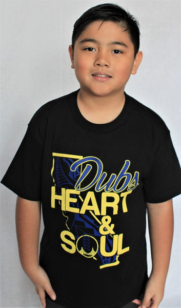 Dubs Heart & Soul Youth Shirt