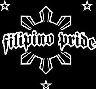 Filipino Pride (7.5 x 7) Decal