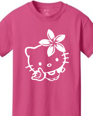Hello Kitty Shaka Youth Shirt