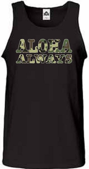 Aloha Always Camo Mens Tank