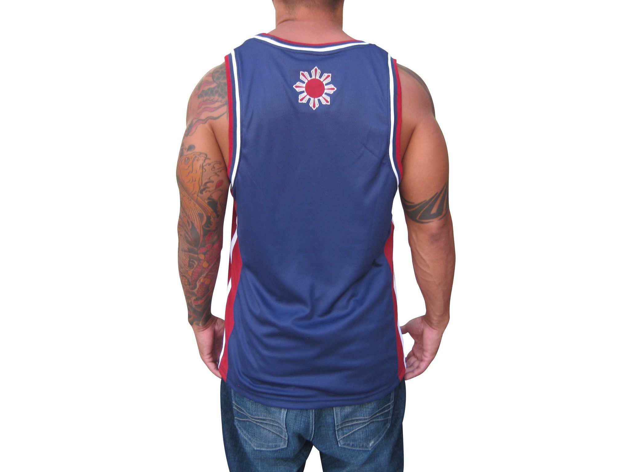 Filipino Sun & Stars Mens Jersey