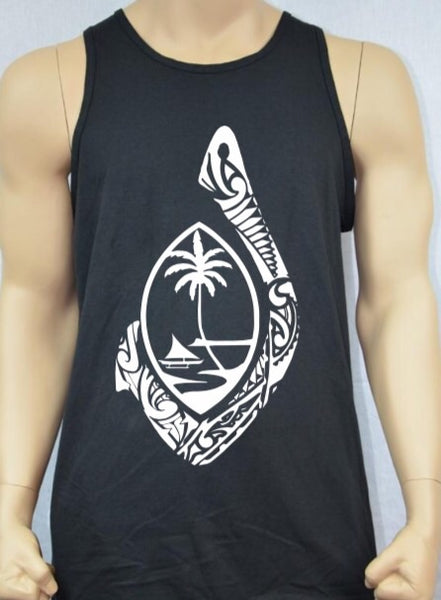 Guam Tribal Hook Mens Tank