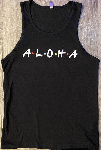 """The One with Aloha"" Mens Tank"