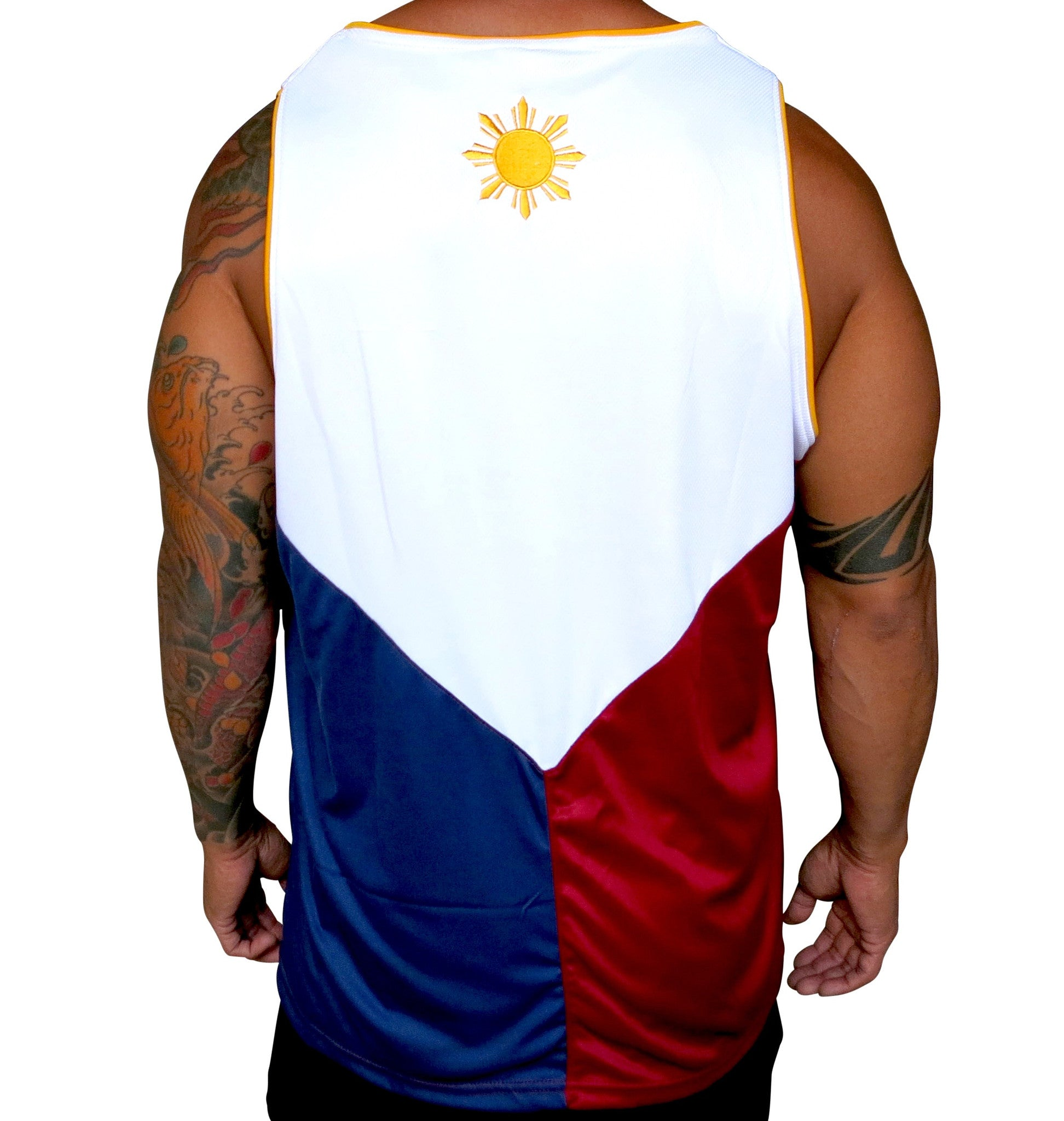 Filipino Flag Mens Jersey