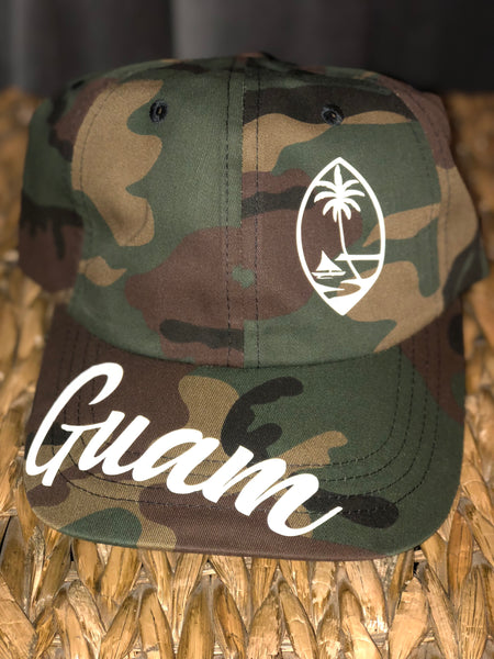 Guam Seal Camo Dad Hat