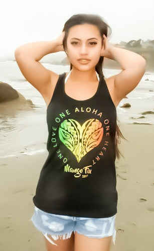 One Love, One Aloha Ladies Tank