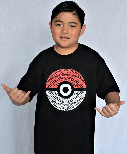 Pokemon Tribal Ball Youth Shirt