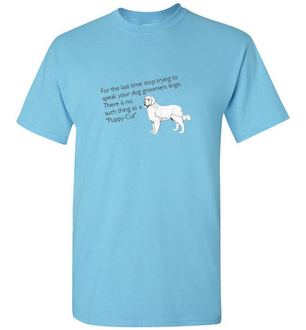 Puppy Cut Short Sleeve
