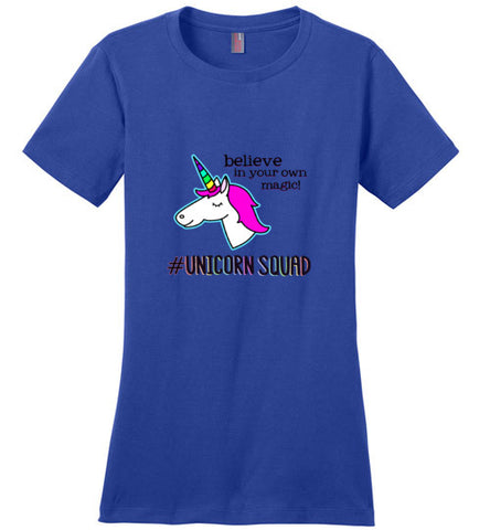 Unicorn Squad Women's Short Sleeve