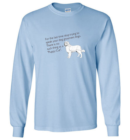 Puppy Cut Long Sleeve