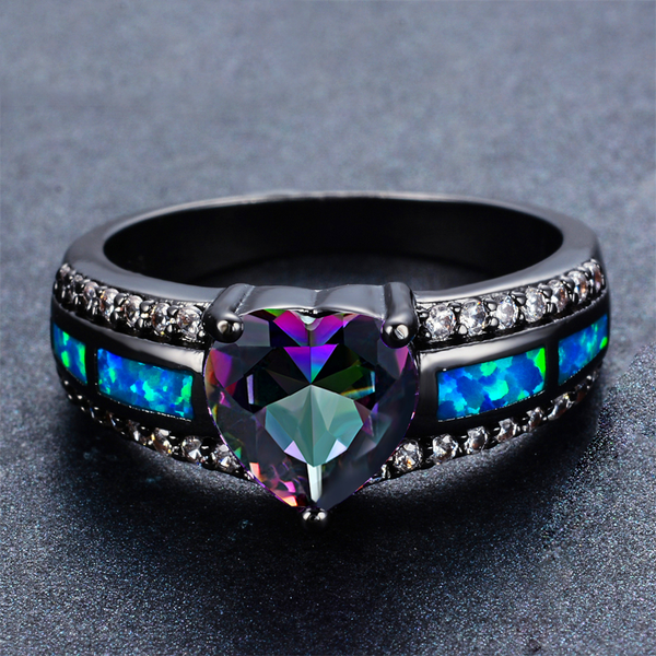 Galaxy Birthstone Ring