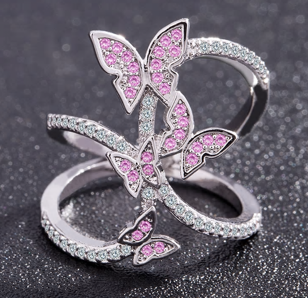 Queen Butterfly Ring