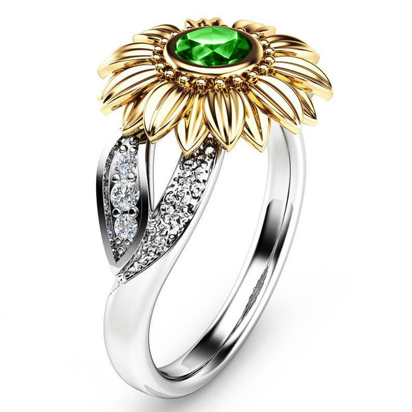 May Sunflower Ring