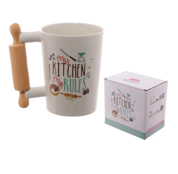 Baker's Rolling Pin Coffee Mug