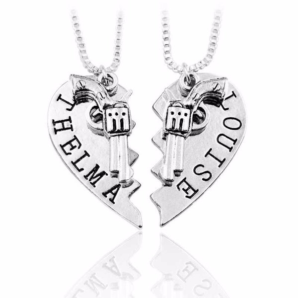necklace sterling partnerincrime jewelry partner silver appl necklaces az crime heart bling in set