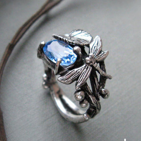 March Dragonfly Ring