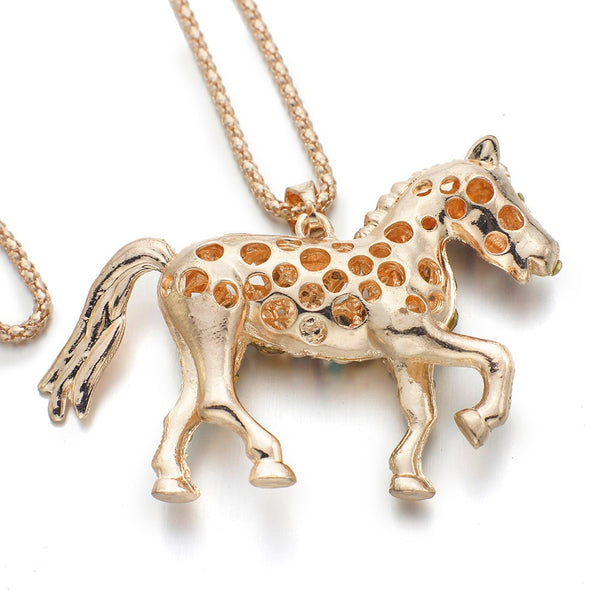 Adorable Horse Necklace