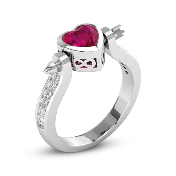 Cupid's Heart Ring