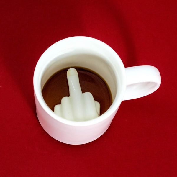 Middle Finger Coffee Mug