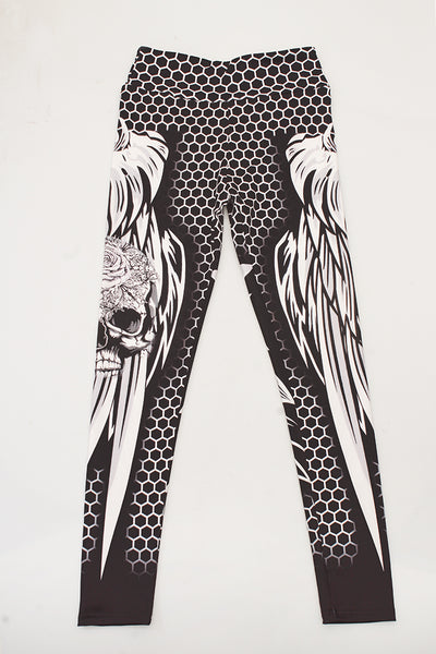 Skull & Petals Leggings