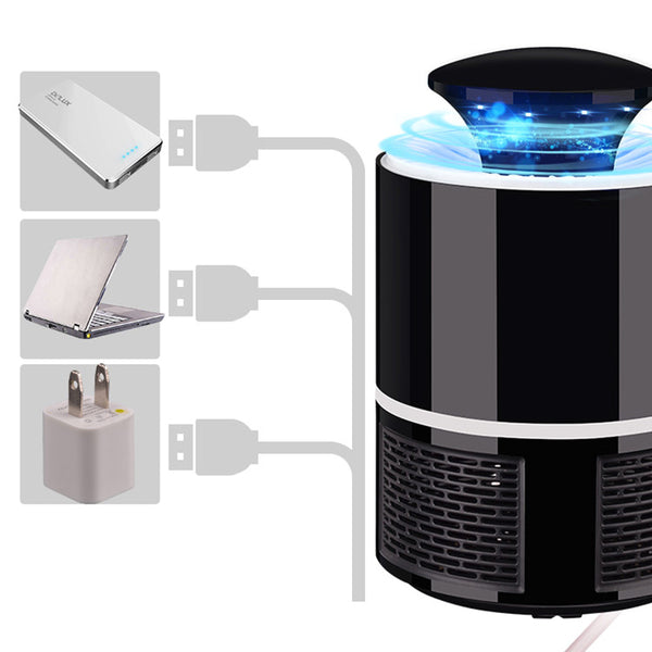 2018 USB Charged UV Light Lamp Mosquito Zapper