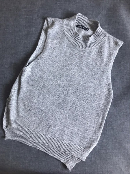 Autumn/Winter Cashmere Wool Sleeveless Vest