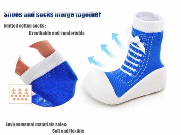Premium Anti-Slip Toddler Knitted Shoes